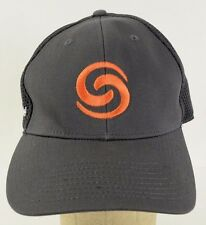 Team Shore Tel Orange Embroidery Gray New Era Baseball Hat Cap Fitted M/L