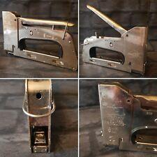rapid 28 metal spring loaded staple gun jammed