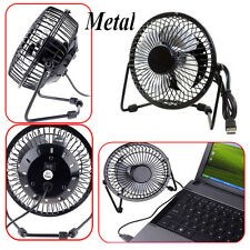 Metal Computer Portable Mini Super Mute PC USB Cooler Cooling Desk Fan blades RF
