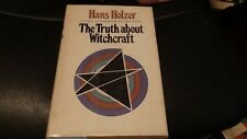 The Truth About Witchcraft by Hans Holzer Hardcover w/ DJ 1969 Doubleday 1st Ed.