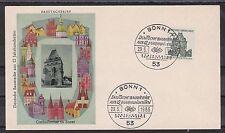 Briefmarken aus der BRD (ab 1948) mit Ersttagsbrief für Bauwerke