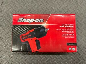 🌟 SNAP ON TOOLS 1/4 INCH  IMPACT GUN WRENCH BODY ONLY MICROLITHIUM CT725ADB