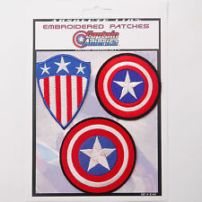 CAPTAIN AMERICA - SHIELD / AVENGERS Iron-On Patch Super Set #141