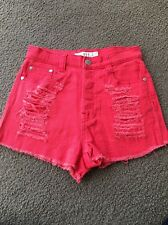 Mink Pink Ladies Size 8 Shorts Two Pair