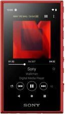 SONY Walkman 16GB A Series NW-A105 R Red New in Box