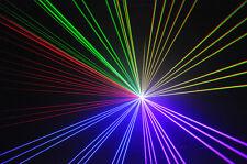 5 in 1 RGB SHOW LASER SYSTEM 1300 MW analogico