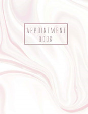Appointment Book: 8 Column Appointment Book for Salons, Spas, Hair Stylist, and