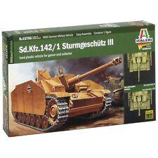 Italeri 1/56 Sd.Kfz.142 Sturmgeschutz III Tank Plastic Model Kit 15756 ITA15756