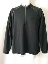 Men's SUGIO Black/Gray Cycling Biking Jacket Full Zip Fitted Large