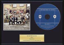 MUMFORD & SONS - Framed CD Presentation Disc Display