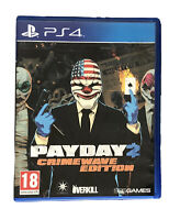 Jeu Payday 2 CrimeWave Edition PlayStation 4 PS4 / Overkill 505 Games Comme Neuf