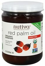 Nutiva - Organic Red Palm Oil Unrefined - 15 oz.