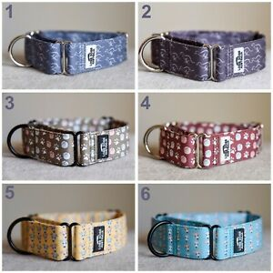 Martingale Collars for Greyhound Whippet No-Slip Dog Collar Long Dogs Australia