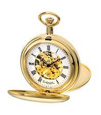 Eichmüller 8214-01, SKELETON + KETTE + BOX, žepna ura - pocket watch -Taschenuhr