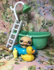 ❤️Authentic Littlest Pet Shop LPS #2561 BABY Cutest Duck Swan Chick Accessory❤️