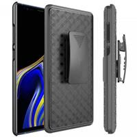 For SAMSUNG GALAXY NOTE 9 - ARMOR CASE COMBO BELT CLIP HOLSTER COVER KICK-STAND