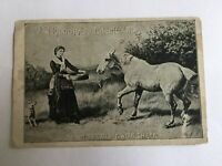 Antique Eldorado Engine Oil Trade Card Shepherd, MI, N.W. & J.H. Struble Store