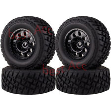 4PCS Wheel Rims & Tyres Tires 1182-17B 106mm For Traxxas Slash 4x4 Truck 1/10 RC
