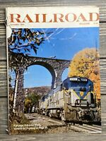 Vintage Magazine Railroad October 1976 Engine Stonebridge