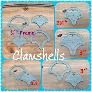 """Clamshell templates 2 ½"""""""" & 3"""" English Paper Piecing"""