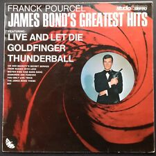 Frank Pourcel 007 JAMES BOND'S GREATEST HITS LP 1973 Live and Let Die Studio 2