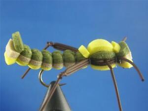 1 dozen Triple Decker Olive #8, Dry Flies, Trout, NR!