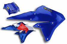 Cycra Powerflow Radiator Shrouds - BLUE - Yamaha YZ250F & YZ450F 14-16 _1778-62