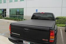 97-04 Dodge Dakota St  Ext Cab 6.4' Bed Soft Tonneau Truck Cover Lock & Roll up