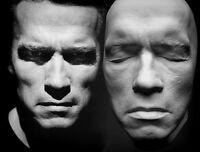 Arnold Schwarzenegger Life Mask No Battle Damage Terminator T3 Genisys