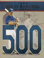 Texas Rangers--Rafael Palmeiro--2003 Yearbook