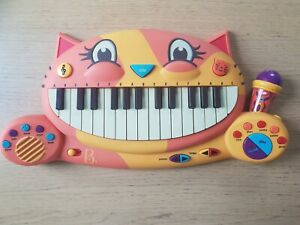 B. Meowsic Toy Piano Children's Keyboard Cat Piano with Toy Microphone
