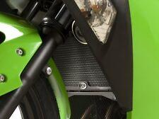 Kawasaki ZX250 Ninja 250R 2010 R&G Racing Radiator Guard RAD0139GR Green