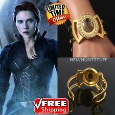 Captain Marvel Bangles Cos Jewelry Black Widow Natasha Infinity Glove Bracelets