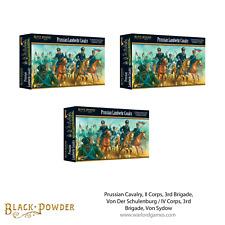 Black Powder - Prussian Cavalry, II Corps, 3rd Brigade, Von Der Schulenburg / IV