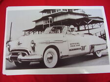 1949  OLDSMOBILE  CONVERTIBLE  INDY 500 PACE CAR   BIG 11 X 17  PHOTO   PICTURE