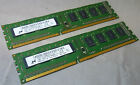 2GB Kit Micron MT8JTF12864AZ-1G1F1 PC3-8500U DDR3 1Rx8 Non-ECC Desktop Memory