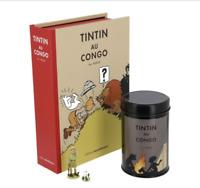 PACK TINTIN AU CONGO CAFE FEU DE CAMP hergé moulinsart limité à 3000 exemplaires