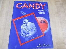 Candy Mack David Joan Whitney Alex Kramer  1944  Sheet Music  (b)