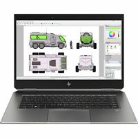 HP ZBook Studio G5 Laptop i7-8750H 16GB 512GB SSD Quadro P1000 CAD Win 10 Pro