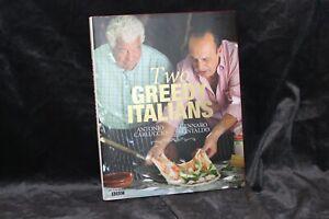 Two Greedy Italians by Genarro Contaldo, Antonio Carluccio (Hardback, 2011)