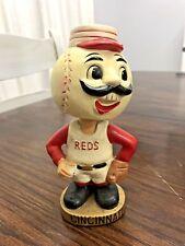 Vintage 1968 Cincinnati Reds Embossed Collectible Bobblehead