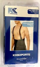 Lumbar Back Support Brace with Suspender Lift Belt Black Belt Size M Industrial