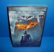 The Dark Knight DVD Christian Bale, Michael Caine, Heath Ledger New!