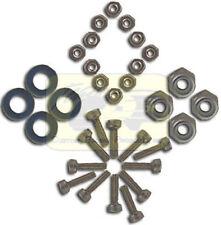 TIRE WHEEL BOLT SET Stainless Steel Tamiya Subaru Brat 58038 58384 Team CRP 5139