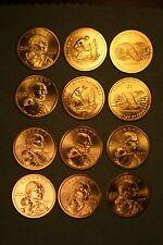 2005 - 2010 PD Sacagawea 12 coin BU Satin Set from US Mint Sets