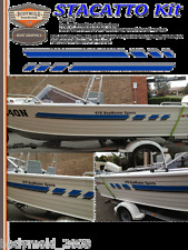 """Quintrex Freedom Boat Decals and Graphics """"STACATTO Kit"""