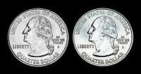 2001 P+D New York State BU Washington Quarters