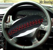 FOR LAND ROVER FREELANDER STEERING WHEEL COVER RED STIC