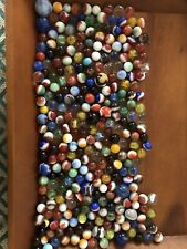Mixed 50 Lot Assorted Old Vintage Modern Colorful Glass Marbles FREE SHIPPING!!