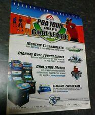 Global VR EA SPORTS PGA TOUR GOLF CHALLENGE EDITION flyer- good original